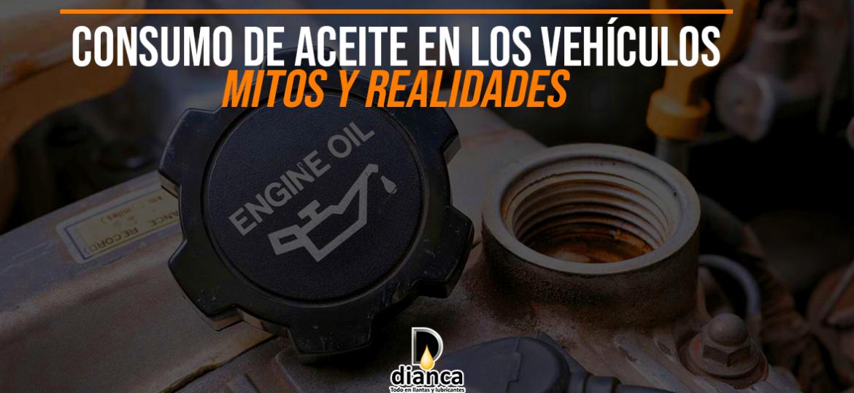 Consumo de aceite en los vehículos - Mitos y realidades